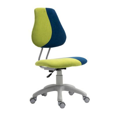 Rastúca otočná stolička, zelená/modrá/sivá, RAIDON