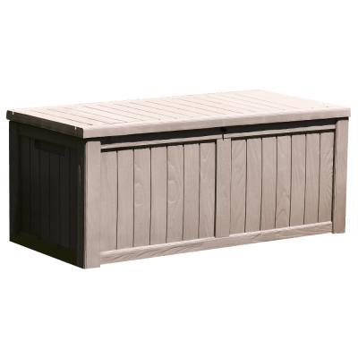 Záhradný úložný box, sivá, BABUL