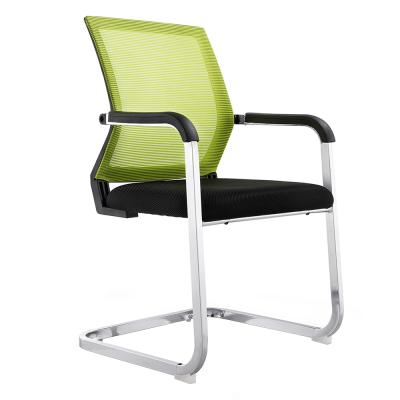 Zasadacia stolička, zelená/čierna, RIMALA