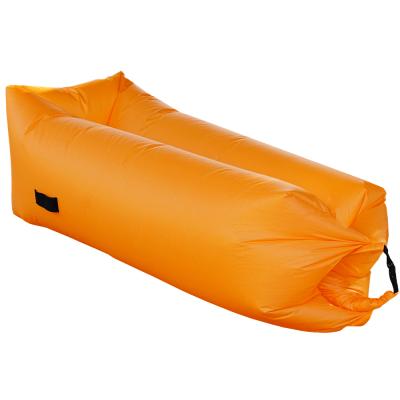 Nafukovací sedací vak/lazy bag, oranžová, LEBAG