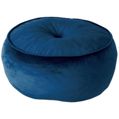 Taburet, látka kráľovská modrá, KEREM