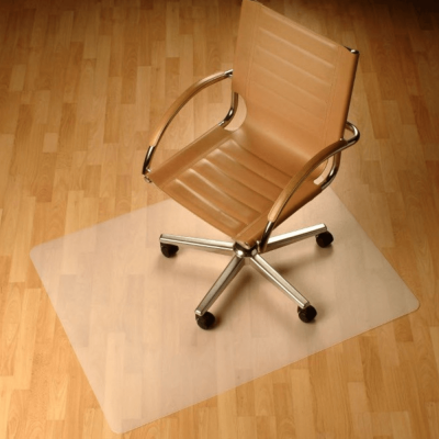 Ochranná podložka pod stoličku, transparentná, 120x90 cm, 0,8 mm, ELLIE NEW TYP 7