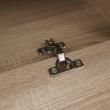 Obývacia stena, biela/dub sonoma, ASOLE