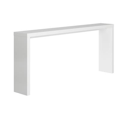 Konzolový stolík, biela, FITRON