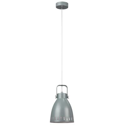 Visiaca lampa, sivá/kov, AIDEN TYP3
