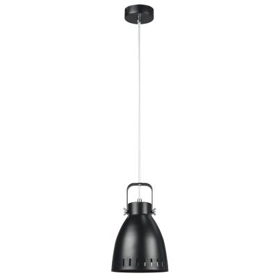 Visiaca lampa, čierna/kov, AIDEN TYP3