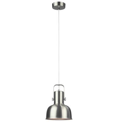Visiaca lampa v retro štýle, kov, matný nikel, AVIER TYP 3