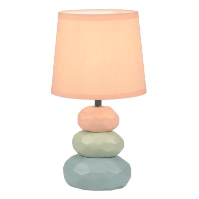 Stolná lampa, oranžová/zelená/modrá, LENUS