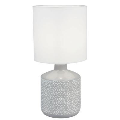 Stolná lampa, biela/sivá, OFRED