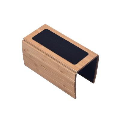 Odkladacia podložka na sedačku, prírodný bambus, OSEN