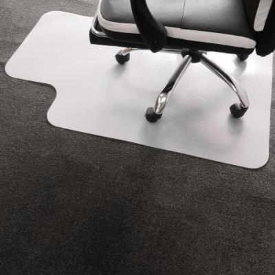 Ochranná podložka pod stoličku, mliečna, 90x120 cm, 1,8 mm, ELLIE NEW TYP 9