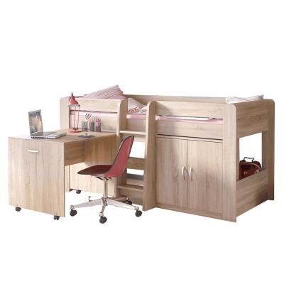 Kombinovaná posteľ do detskej izby, dub sonoma, FANY